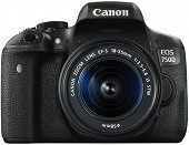 Canon EOS 750D 18-55 IS STM  BLACK