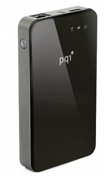 PQI AIR BANK HDD USB 3.0, ETHERNET, WI-FI 500 GB BLACK (6W31-500GR1002)
