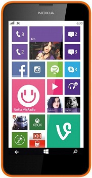 NOKIA LUMIA 630 8GB ORANGE