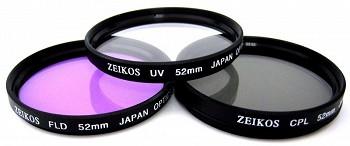 ZEIKOS ZE-FLK52 52 MM (UV-CPL-FLD)