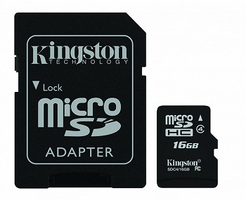 Kingston microSDHC Class 4 16 GB