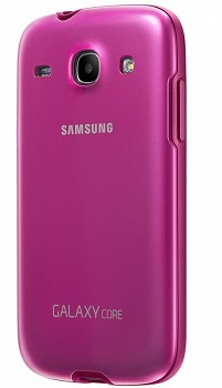 SAMSUNG GALAXY CORE BACK COVER + PINK
