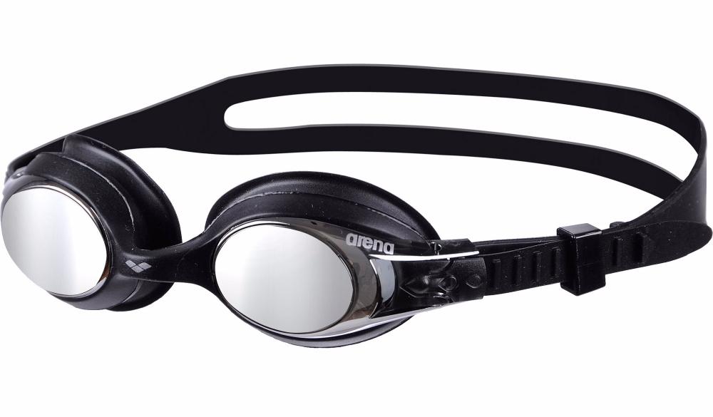 წყლის სათვალე ARENA X-LITE KIDS MIRROR BLACK