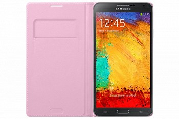 SAMSUNG GALAXY NOTE 3 FLIP WALLET COVER PINK (EF-WN900BIEGRU)