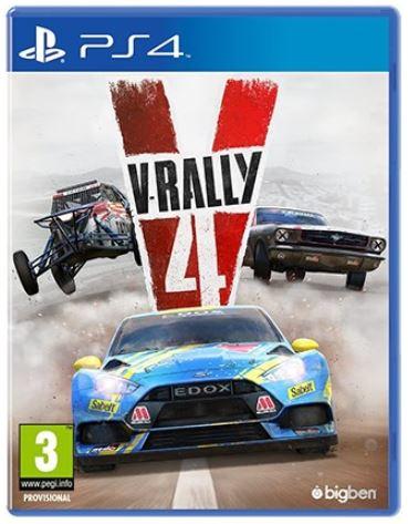 კონსოლის თამაში V-RALLY (PLAYSTATION4)