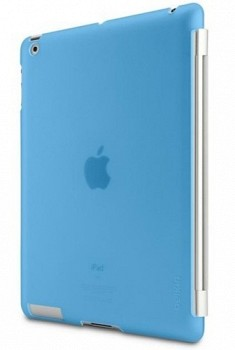 BELKIN SNAP SHIELD FOR IPAD 3 BLUE F8N744CWC04