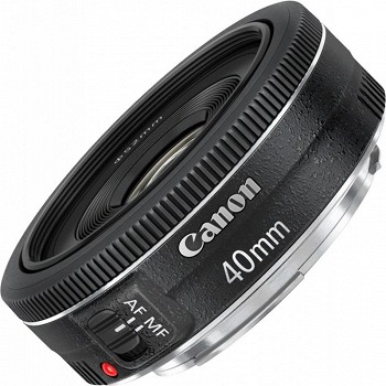 CANON EF 40mm f/2.8 STM BLACK