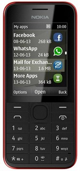 NOKIA 208 RED