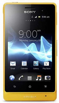 SONY ST27i XPERIA GO YELLOW