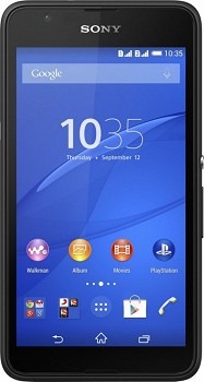 SONY XPERIA E4G (E2033) 8GB BLACK