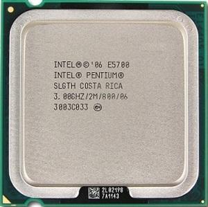 INTEL PENTIUM E5700 (2 MB ქეშ მეხსიერება, 3.0 GHZ) TRAY