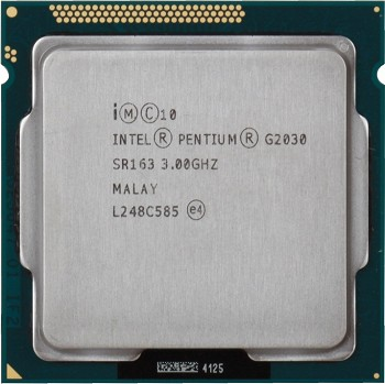 INTEL PENTIUM G2030 (3 MB ქეშ მეხსიერება, 3.0 GHZ) BOX