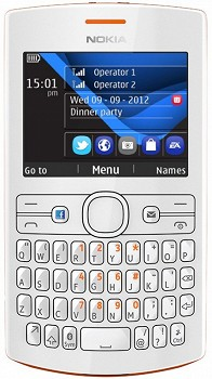 NOKIA ASHA 205 ORANGE-WHITE