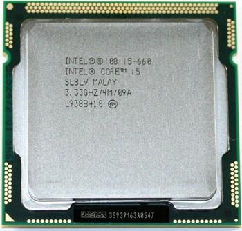 INTEL CORE I5 660  (4 MB ქეშ მეხსიერება, 3.33 GHZ) BOX