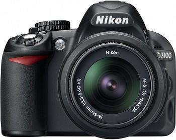 NIKON D3100 18-55 KIT BLACK