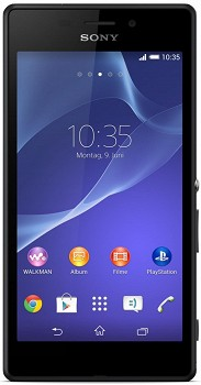 SONY XPERIA M2 AQUA (D2403) 8GB BLACK