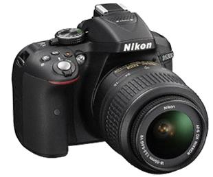 NIKON  D5300 BLACK (18-55 VR KIT)