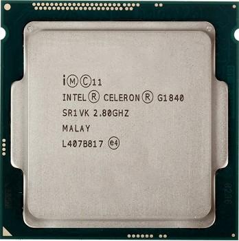 INTEL CELERON  G1840 (2 MB ქეშ მეხსიერება, 2.8 GHZ) TRAY