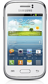 SAMSUNG S6312 GALAXY YOUNG DUOS WHITE