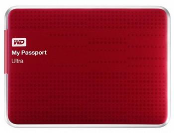 WD MY PASSPORT ULTRA USB 3.0 500 GB RED