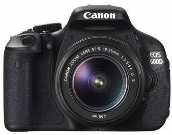CANON EOS 600D EF-S 18-55 III KIT BLACK (5170B158)