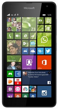 MICROSOFT LUMIA 535 8GB BLACK