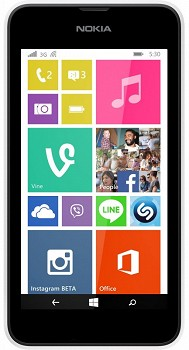 NOKIA LUMIA 530 4GB WHITE