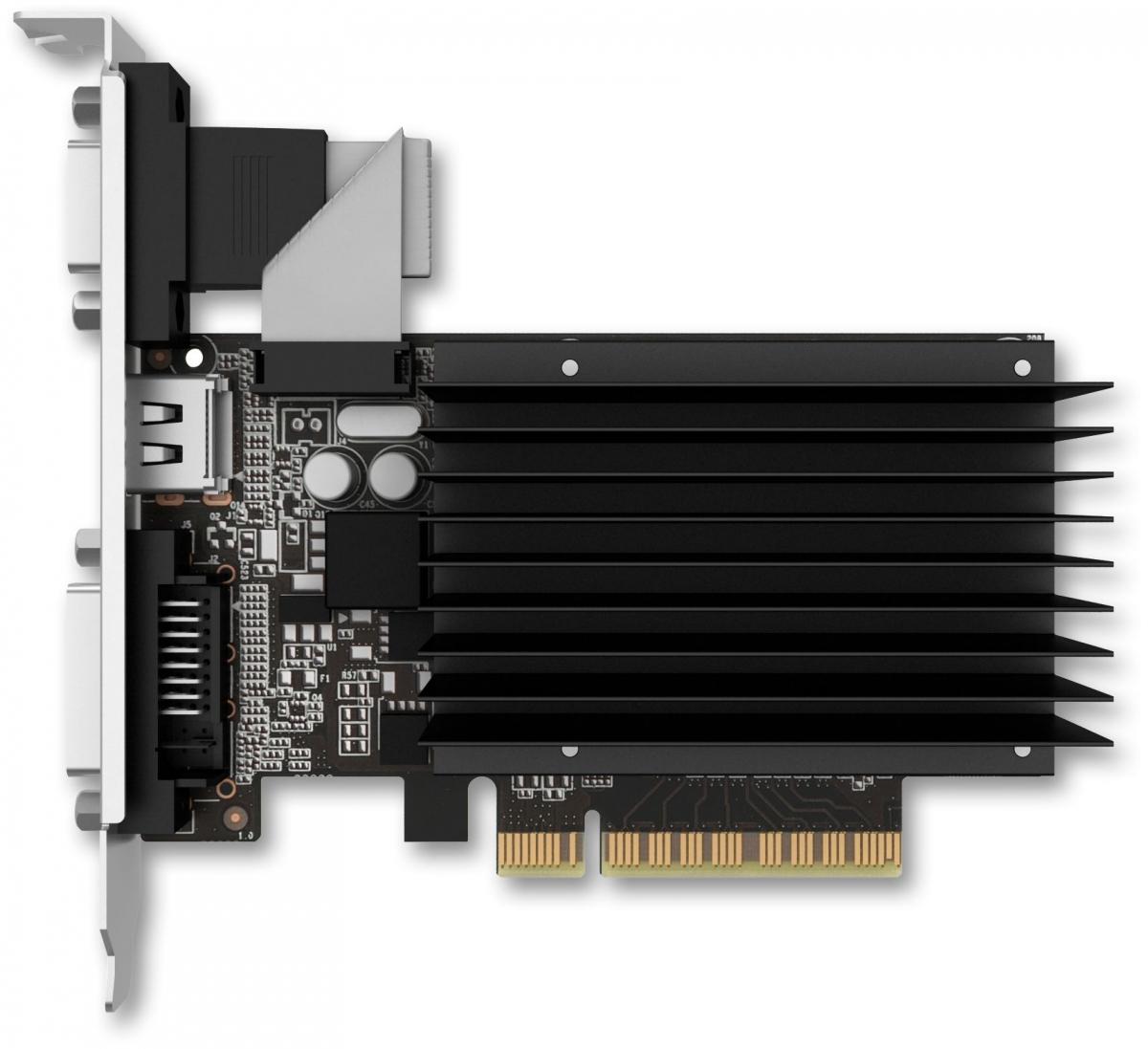 ვიდეო დაფა PALIT NVIDIA GEFORCE GT 730 2GB GDDR3 (NEAT7300HD46-2080H)