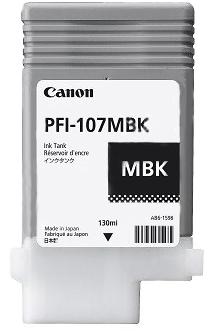 CANON  PFI 107 MBK (6704B001AA)