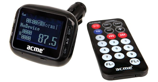მანქანის FM მოდულატორი ACME F200-01