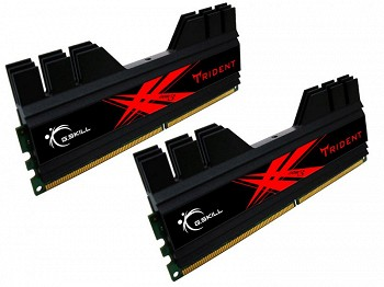 G.SKILL TRIDENT 8GB (2 x 4GB) DDR3 2400MHZ (F3-2400C10D-8GTD)