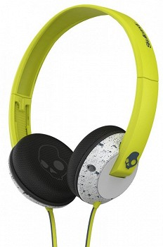 SKULLCANDY UPROCK HOT LIME-LIGHT GRAY