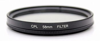 I-DISCOVERY CPL FILTER 58MM