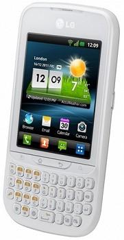 LG C660 H OPTIMUS PRO WHITE
