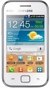 SAMSUNG S6802 GALAXY ACE DUOS CHIC WHITE