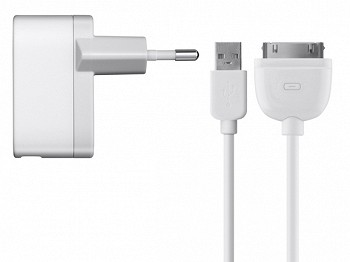 BELKIN USB MICRO CHARGER FOR IPAD WHITE (F8Z783CW04)