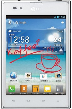 LG OPTIMUS VU (P895) 32GB WHITE