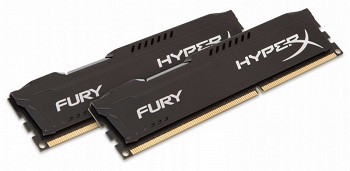 KINGSTON HYPERX FURY 16GB (2 x 8GB) DDR3 1866MHZ (HX318C10FBK2/16)