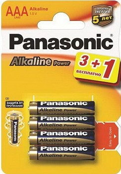 PANASONIC ALKALINE POWER (LR03REB/4B1F)