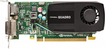 NVIDIA QUADRO K600 1 GB GDDR3 (C2J92AA)