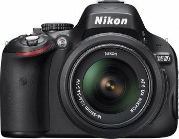NIKON D5100 18-55 KIT BLACK