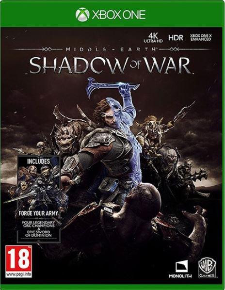 კონსოლის თამაში MIDDLE EARTH SHADOW OF WAR (XBOX ONE)