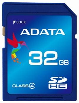 A-DATA 8GB SDHC CLASS 4 (ASDH8GCL4-R)
