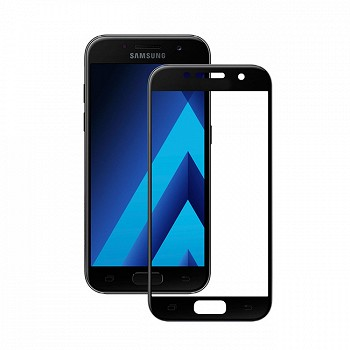 ეკრანის დამცავი GLASS PRO+ TEMPERED SCREEN FOR SAMSUNG GALAXY A3 (A320) BLACK