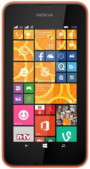 NOKIA LUMIA 530 DUAL 4GB ORANGE