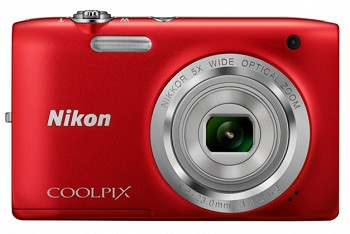 NIKON COOLPIX S2800 RED