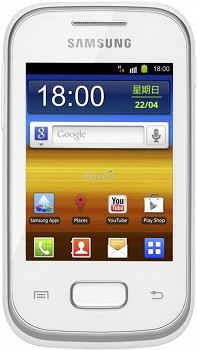 SAMSUNG S5301 GALAXY POCKET WHITE