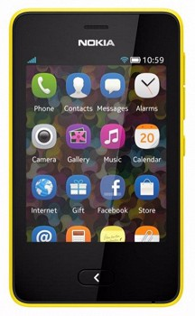 NOKIA ASHA 501 SINGLE SIM YELLOW