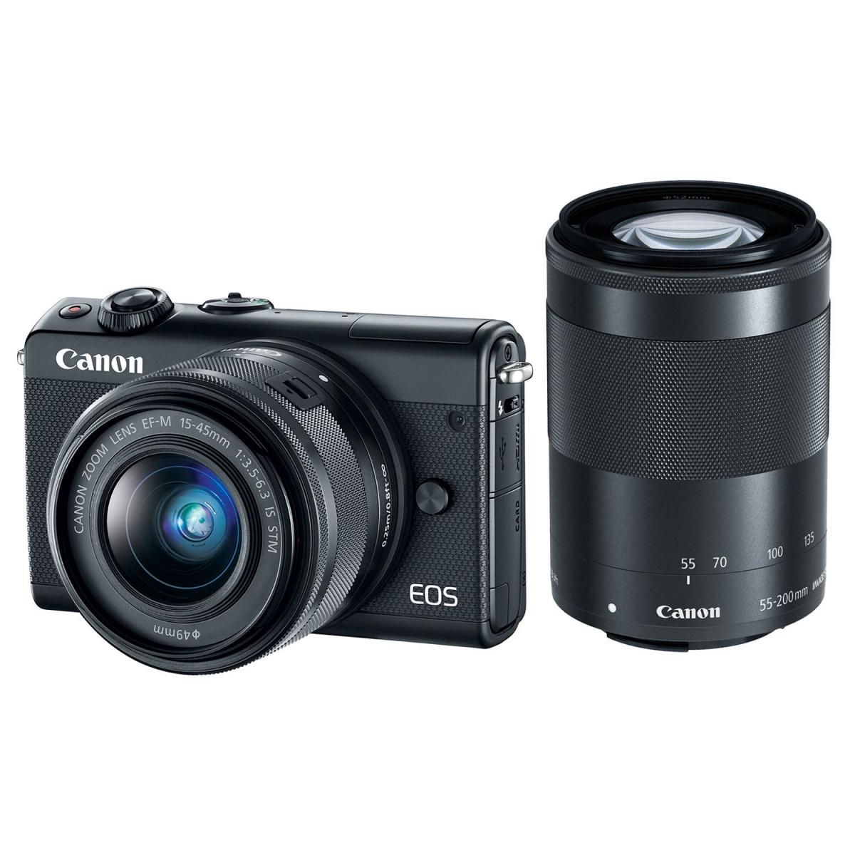 ციფრული ფოტოაპარატი CANON EOS M100 15-45MM IS