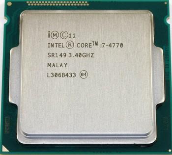 INTEL CORE I7 4770 (8 MB ქეშ მეხსიერება, 3.4GHZ - 3.9 GHZ) TRAY